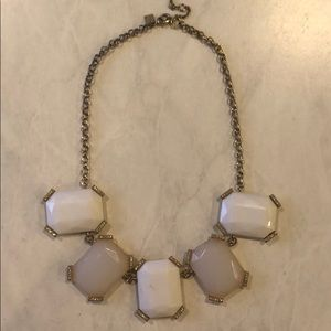 Banana republic large stone necklace